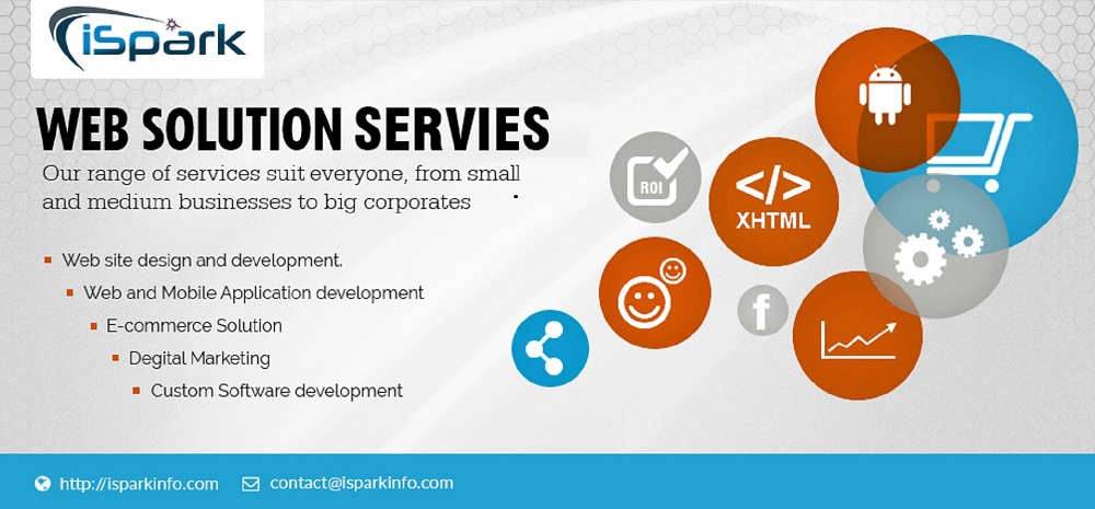 web design and development company India